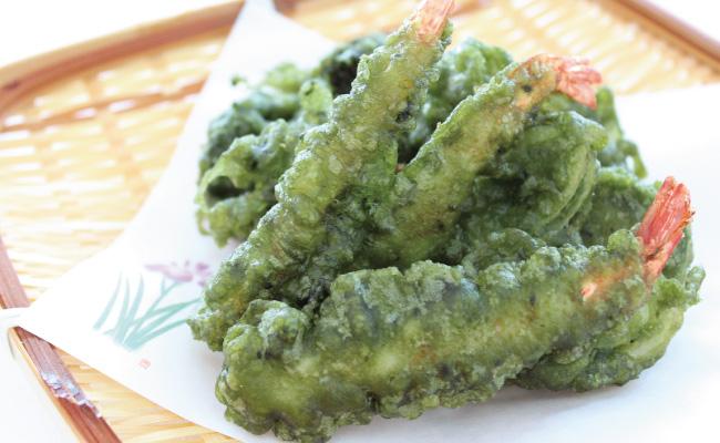 Sun-Chlorella-Recipes-Chlorella-Tempura
